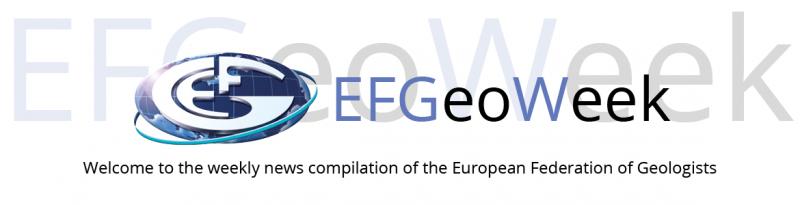 Launch of EFGeoWeek