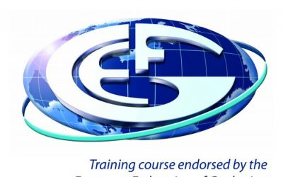 EFG puts its quality Stamp on top training courses