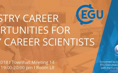 Are you studying earth sciences? Did you consider a career in industry? Attend the EGU Townhall Meeting 14 to learn more about working possibilities industry can offer you!