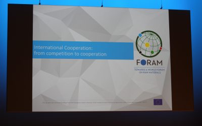 FORAM 18 Pilot Event: testing the concept of a World Forum on Raw Materials