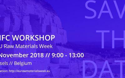 Registration now open for UNFC workshop // 16 November 2018 // 9:00 – 13:00 // Brussels