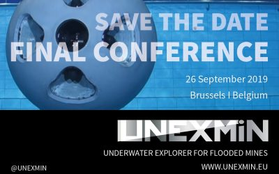 Save the date: UNEXMIN final conference – 26 September 2019