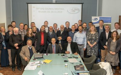 EFG Council gathered in Brussels for its 78th meeting