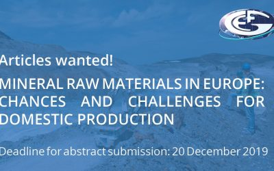 Call for articles: mineral raw materials in Europe