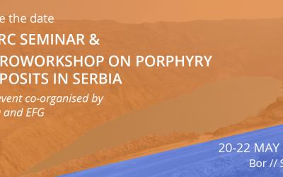 PERC seminar &  EuroWorkshop: Porphyry Deposits in Serbia