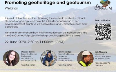 Promoting geoheritage and geotourism, a GeoConnect³d webinar