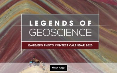 Vote for the best 'Legends of geoscience' pictures!