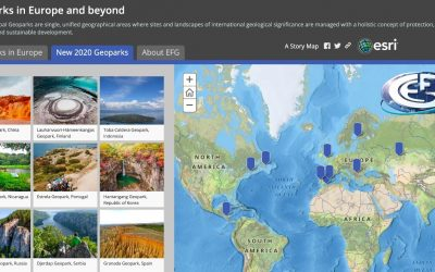 UNESCO Global Geoparks StoryMap
