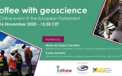 Coffee with Geoscience: EU policymakers meet geoscientists to exchange on the role mineral raw materials play for the EU Green Deal