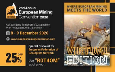 European Mining Convention: special discount for EFG members