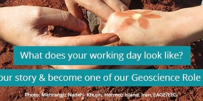 Share impressions from your work and become a Geoscience Role Model!