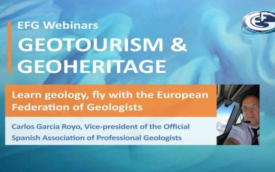 Webinar: Learn geology, fly with the European Federation of Geologists