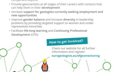 EFGeoMentoring: Professional career mentoring for geoscientists at all career stages