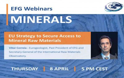 EFG Webinar: EU Strategy to Secure Access to Mineral Raw Materials