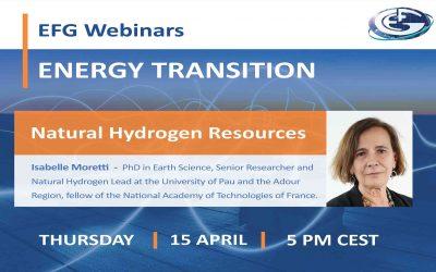 EFG Webinar: Natural Hydrogen Resources