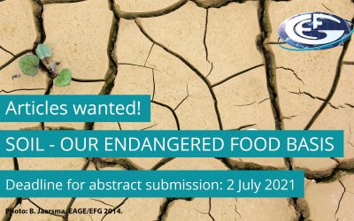 Call for articles: Soil – our endangered food basis